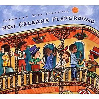 Putumayo børn gaver - New Orleans legeplads [CD] USA import