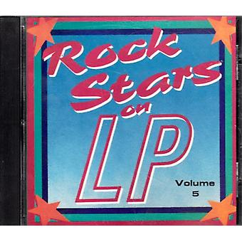 Rockstjerner på LP - Vol. 5-Rock stjerner på LP [CD] USA importerer