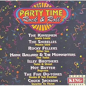Fiesta de la hora Rock & Roll - partido tiempo Rock & Roll [CD] USA importar