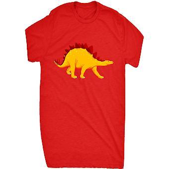 Renowned Golden Stegosaurus Dinosaur