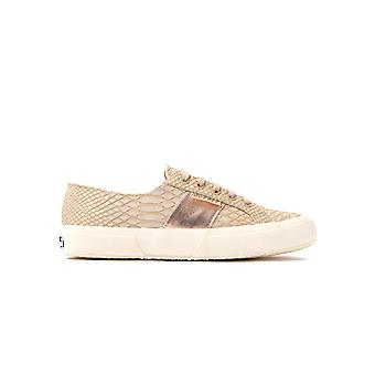 Women's 2750 Snake Trainers - Nude
