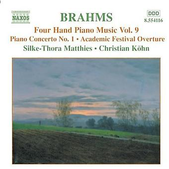 J. Brahms - Brahms: Vier Hand Piano Music, Vol. 9 [CD] USA import