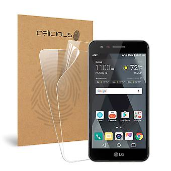 Celicious Vivid LG Phoenix 3 Invisible Screen Protector [Pack of 2]