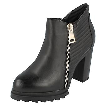 Ladies Spot On Ankle Boot F50442