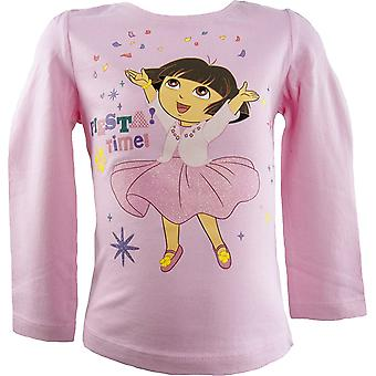 Girls Dora the Explorer Long Sleeved Top