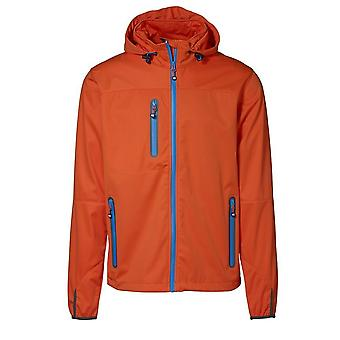 ID Mens Lightweight Full Zip Fitted Soft Shell Jacket