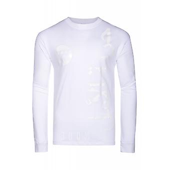 JUNK YARD freedom shirt men's Longsleeve white with simple print