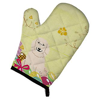 Carolines Treasures  BB6083OVMT Easter Eggs Great Pyrenese Oven Mitt