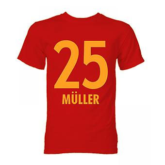 T-shirt de Thomas Muller Bayern Munich Hero (Red)