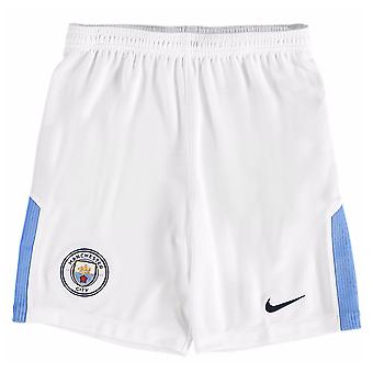 2017-2018 man City Home Shorts de Football Nike (Kids)