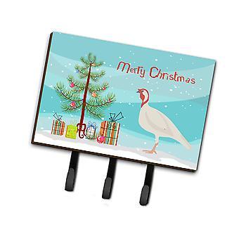 Beltsville небольшой белый Турция курица Рождество поводок или обладатель ключа