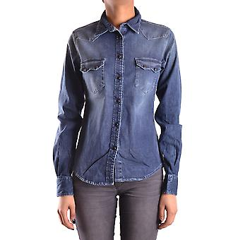 Meltin'pot ladies MCBI340053O Blau cotton shirt