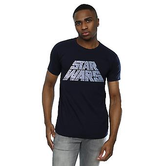Star Wars Men's Silver Logo T-Shirt