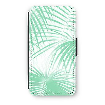 Huawei P8 Lite (2015-2016) Flip Case - Palm leaves