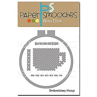 Paper Smooches Dies-Embroidery Hoop J1D422