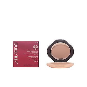 Shiseido Sheer And Perfect Cpct Foundation Fair Beige 10gr New Make Up Womens