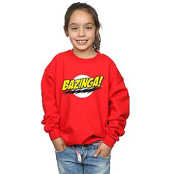 The Big Bang Theory Girls Sheldon Bazinga Sweatshirt