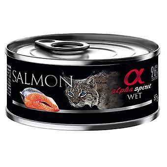 Alpha Spirit Wet Food for Salmon Cats with Blueberries (Cats , Cat Food , Wet Food)