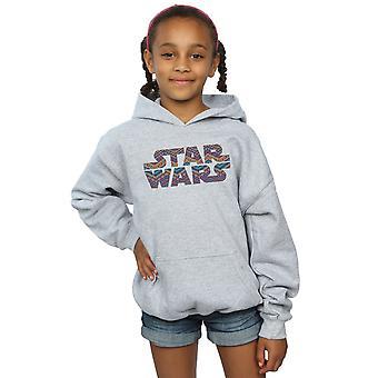 Star Wars Girls Farbe aztekische Logo Hoodie