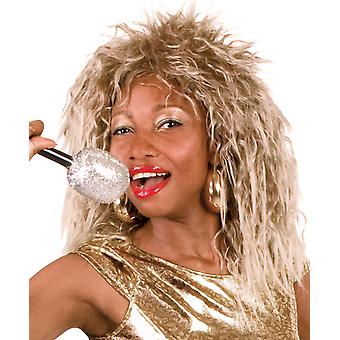 Boland Ash Blonde 80's Rock Chick Queen Fancy Dress Party Wig