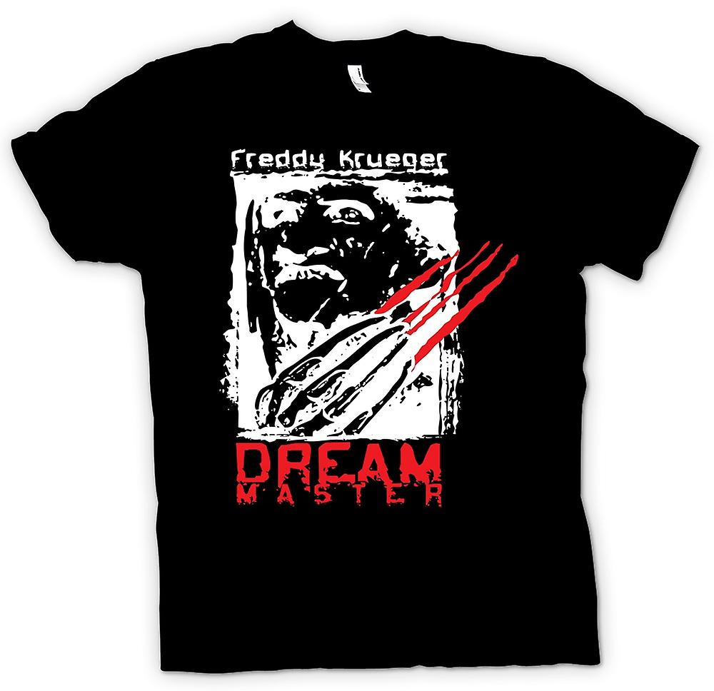 Womens T-shirt - Freddy Krueger Dream Master - Horror
