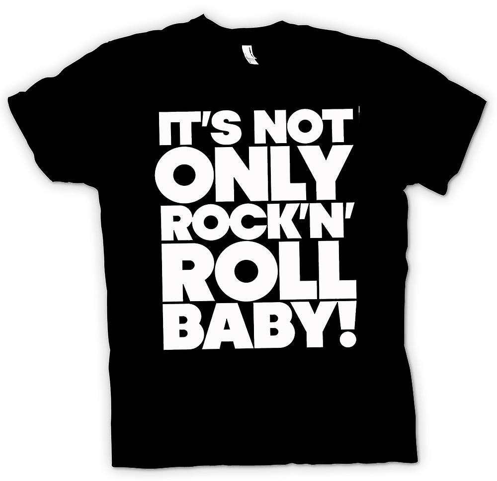 Kids T-shirt - It's Not Only Rock n Roll Baby