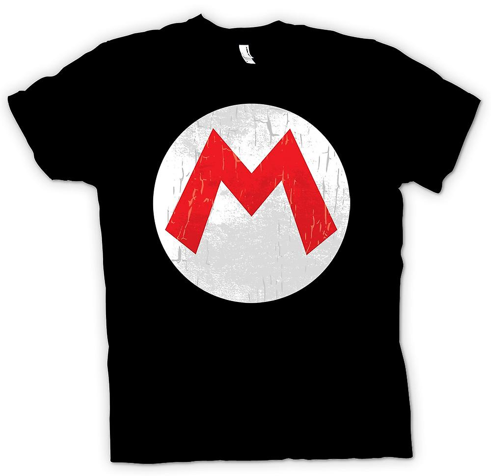 Mens T-shirt - Mario Logo - Gamer