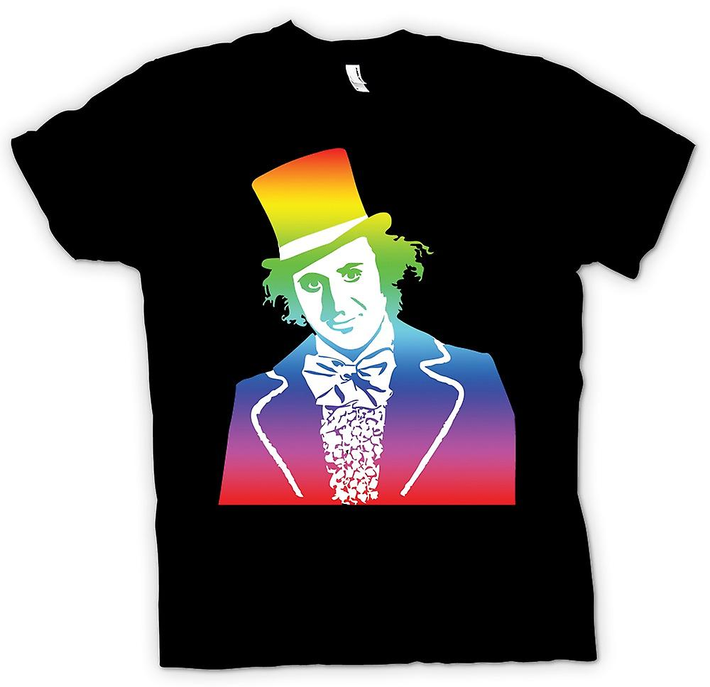 Mens t-shirt - amo Willy Wonka - divertente