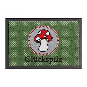 Piégeage de saleté paillasson tapis lucky vert rouge 40 x 60 cm