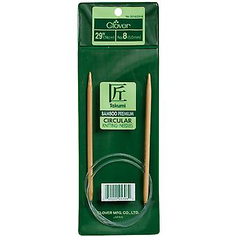 Takumi Bamboo Circular Knitting Needles 29