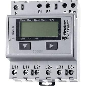 Finder 7E.46.8.400.0032 Electricity meter (3-phase) Digital 65 A MID-approved: Yes