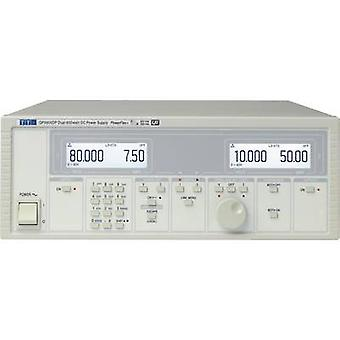Aim TTi QPX600DP Bench PSU (adjustable voltage) 0 - 60 Vdc 0 - 50 A 600 W GPIB, LAN, LXI, RS232, USB , Analogue No. of outputs 2 x