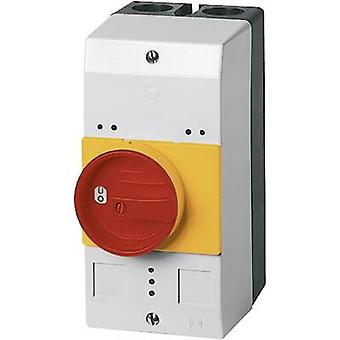 Enclosure + rotary switch (L x W x H) 158 x 80 x 126 mm Red, Yellow Eaton CI-PKZ0-GRVM 1 pc(s)