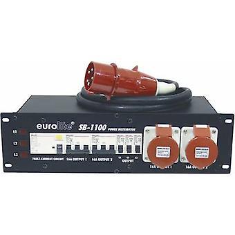 19 power distributor 9x Eurolite SB-1100 3 U