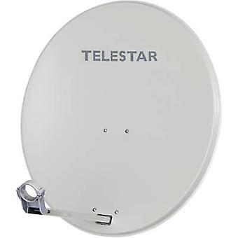 Telestar DIGIRAPID 80 5109721-AB Sat-Antenne, hellgrau
