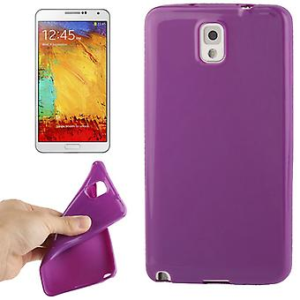Handyhülle TPU Schutzhülle für Samsung Galaxy Note 3 / N9000 lila / violett