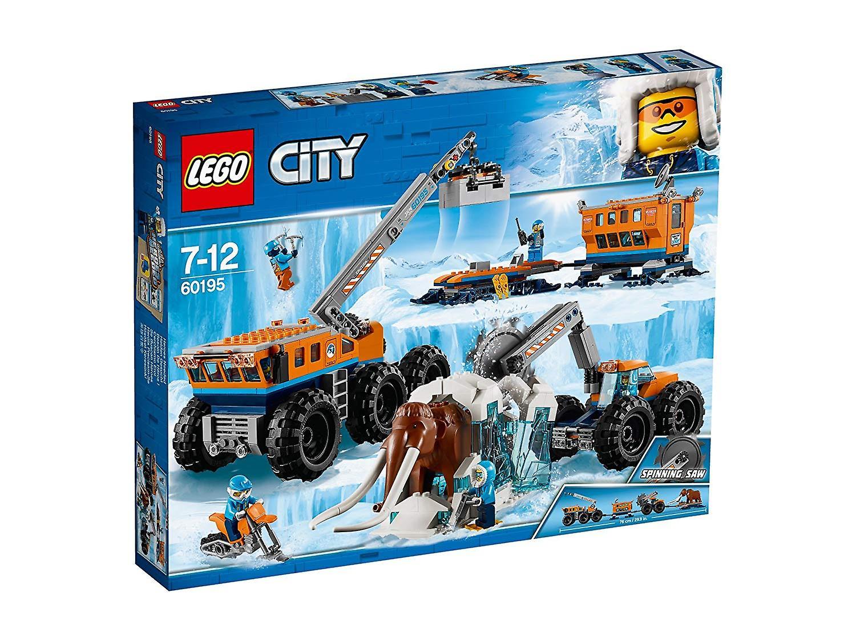 LEGO City 60195 Exploration de l'Arctique Mobile Base Playset