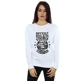 Drewbacca Women's Difficult Roads Sweatshirt