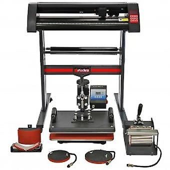 PixMax 5 in 1 Heat Press, Vinyl Cutter