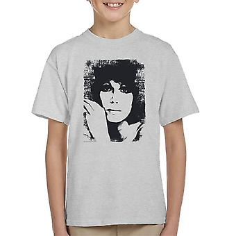 TV Times Joanna Lumley 1976 Kid's T-Shirt