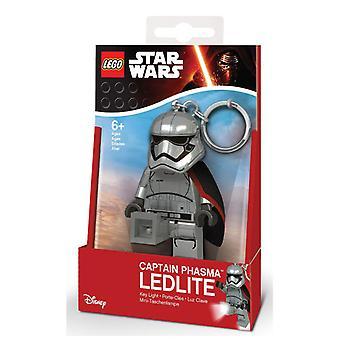 LEGO Star Wars Schlüsselanhänger Kapitän Plasma mit Licht