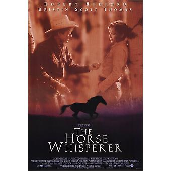 El caballo Whisperer Movie Poster (11 x 17)