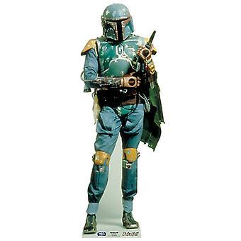 Boba Fett klasycznego Star Wars Lifesize tektury wyłącznik