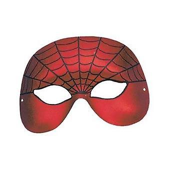 Spiderman Domino Half Face.