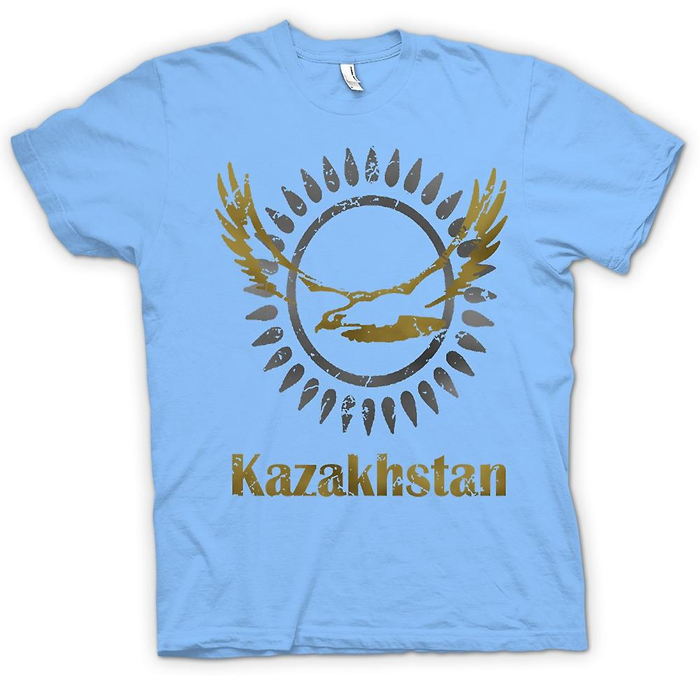 Heren T-shirt - Kazachstan - Cool Design grappig