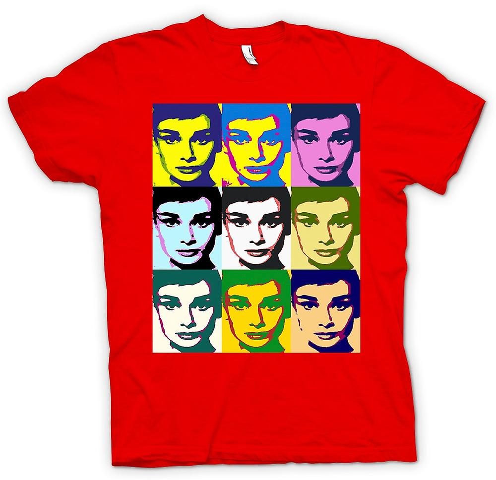 Hommes T-shirt - Audrey Hepburn Legend - Pop Art
