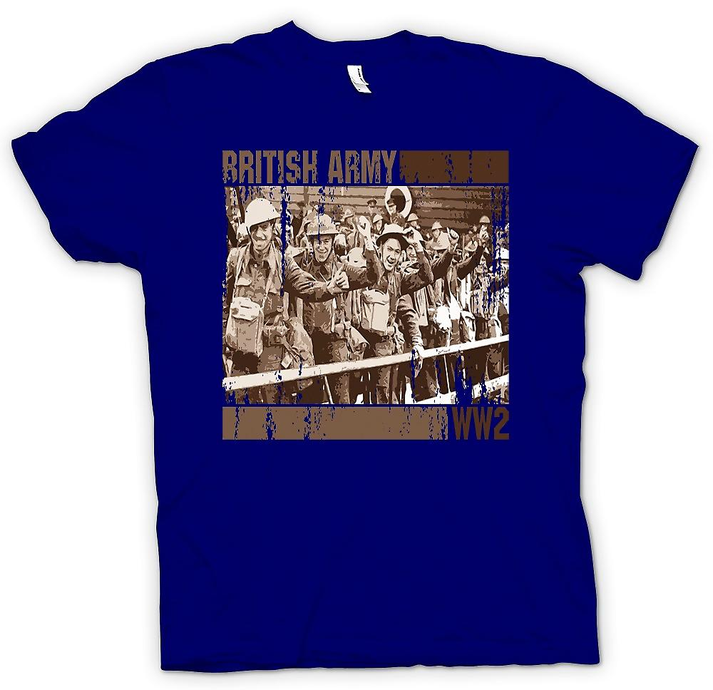 Mens T-shirt-Armée britannique World War 2
