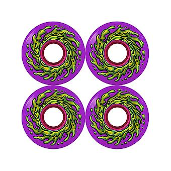 Santa Cruz Purple Slime Balls OG 78 a - 60mm roues de Skateboard