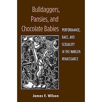 Bulldaggers - penséer och choklad spädbarn - prestanda - ras och Se