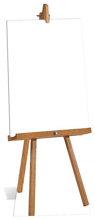 Små tomma anslagstavlan kartong släppandet / stående / Standup